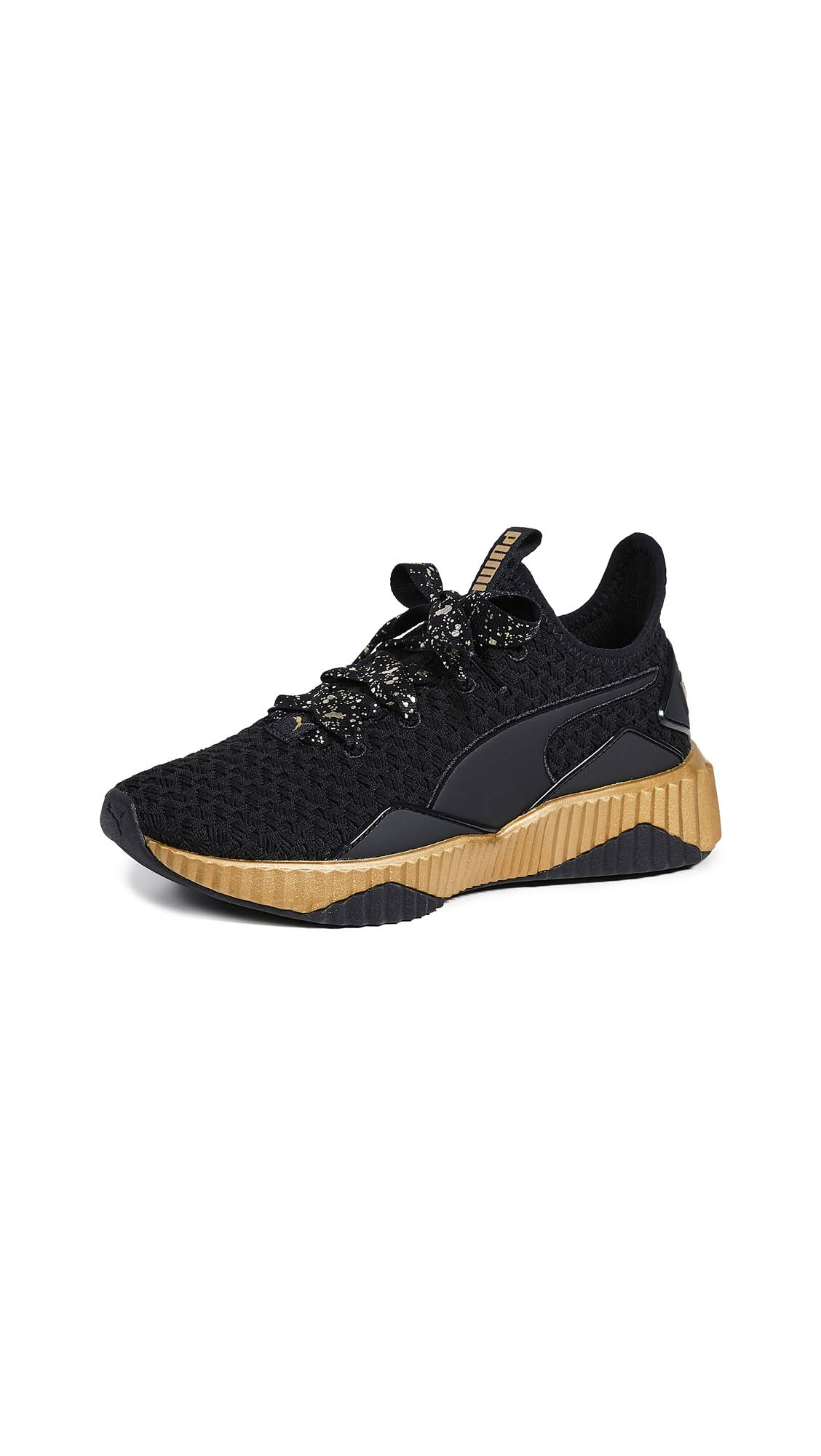 Black Sneakers Team Gold Defy Puma 7 Sparkle puma w1tnT6