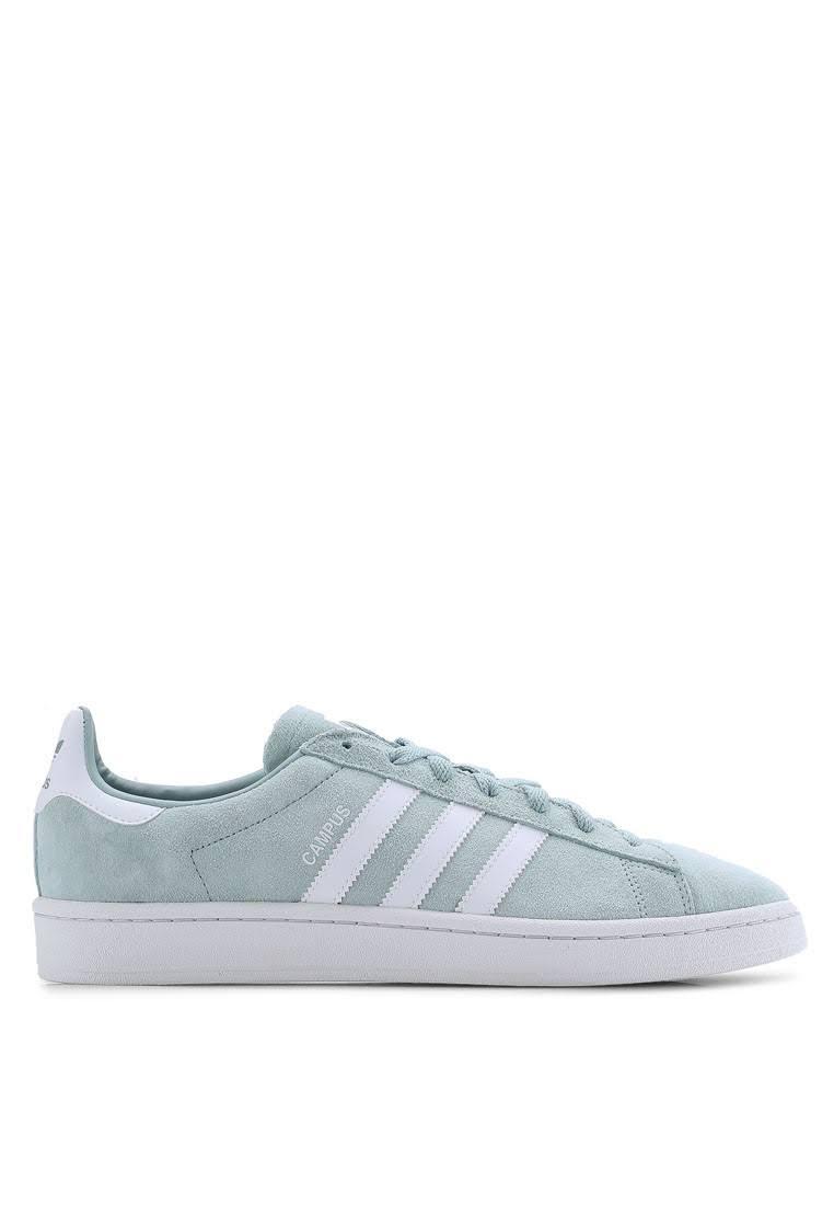 amp;green White Adidas Men White Sneakers Originals Campus qtrwOIra
