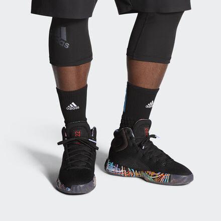 Mens Adidas Pro Bounce Madness 2019 – Basketball Sneakers - Black - G27764 UK15