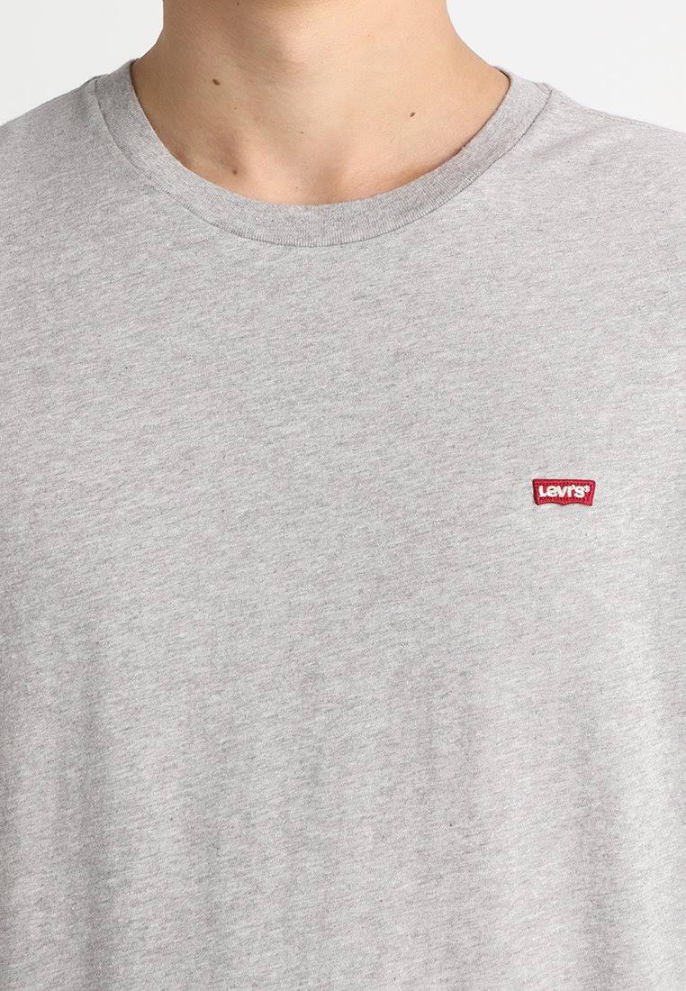 Herren Größe Basic Tshirt Grau Triblend shirt Xs Meliertes 501 T Original Levi's Violett wHqWCTzv