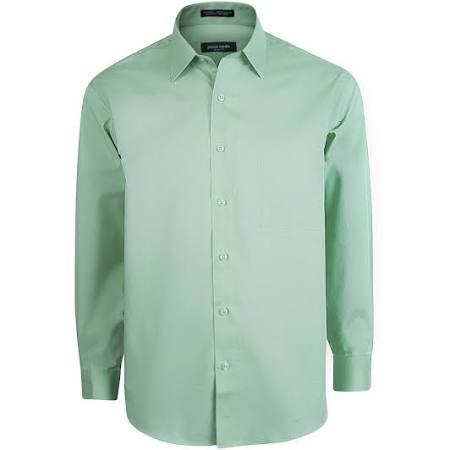 17 Ajustada Brillante Hombre Para 5 Cardin Tamaño Pierre Camisa 14 Cactus pF4wvq1x