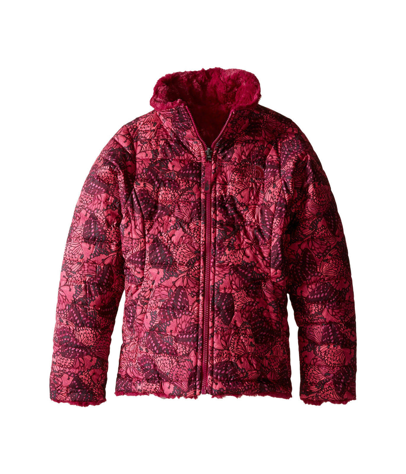 The Rosa Reversible Chaqueta Face North Swirl Mossbud Chicas 7rqU7Ex
