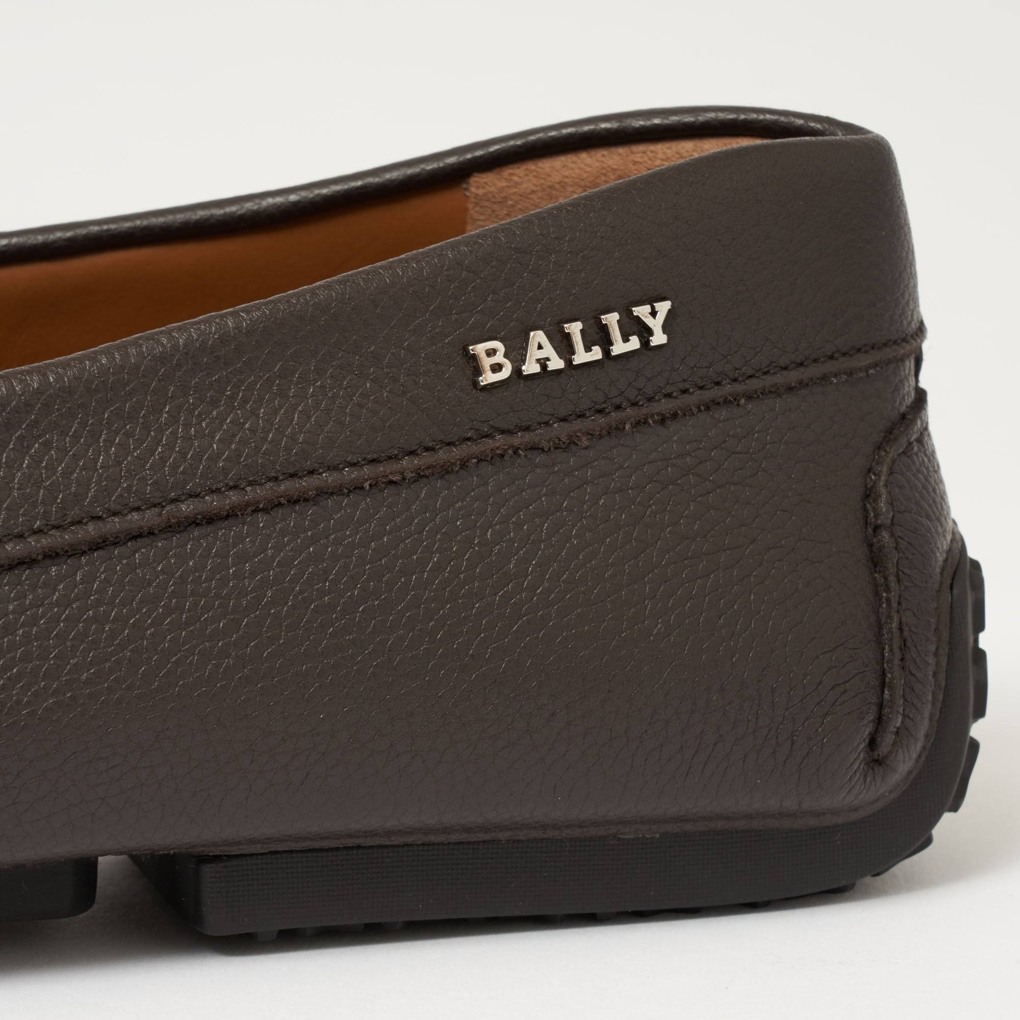5 6 Safari Safari Farbe Bally Braun Größe Uk Pearce Driver Leather 6206928 xUUv1Bz