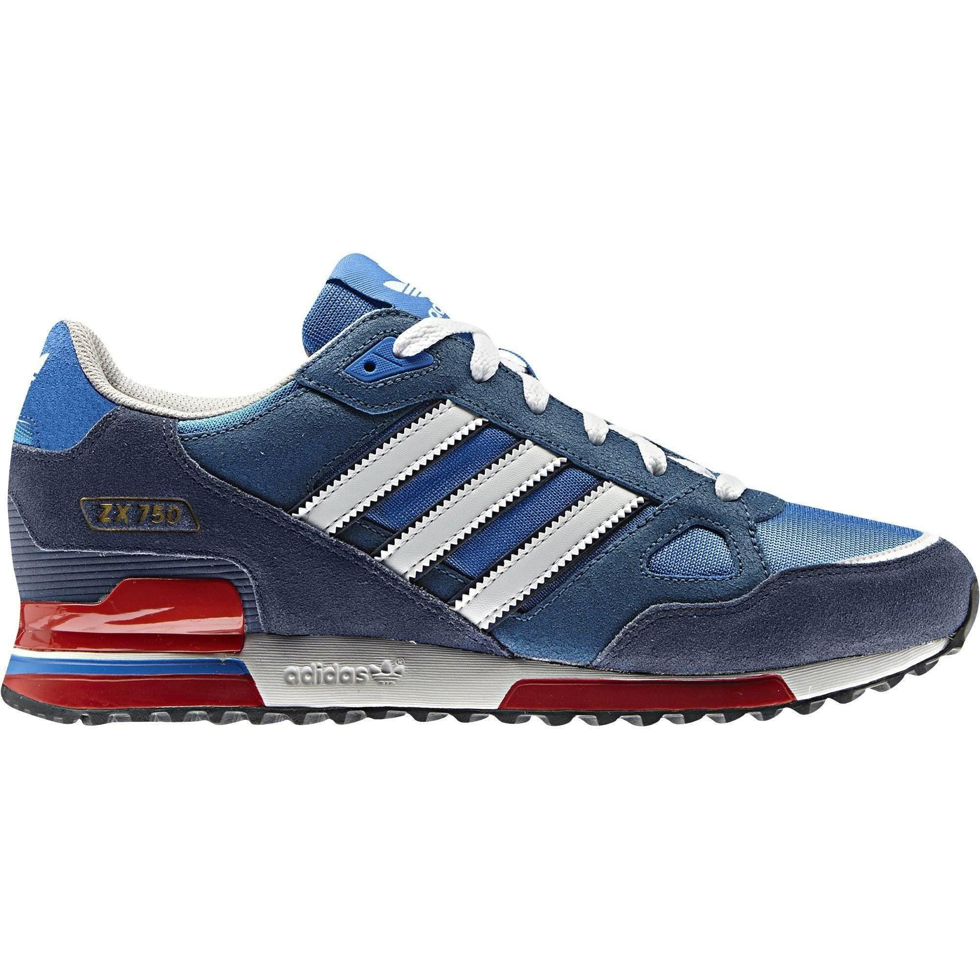 (9.5) adidas Originals ZX 750 - Blue