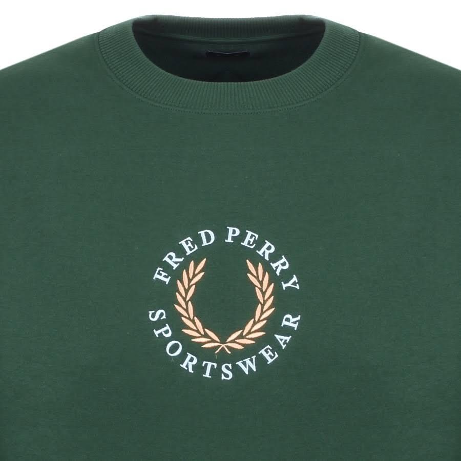 di pile marca Felpa Fred PerryTartan in Green iOPkXZu