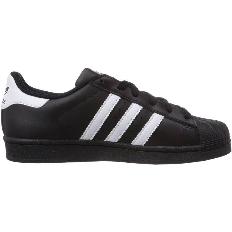 Superstar Girls Foundation zwartwit zwart Adidas Sneakers zpSMVLUqG