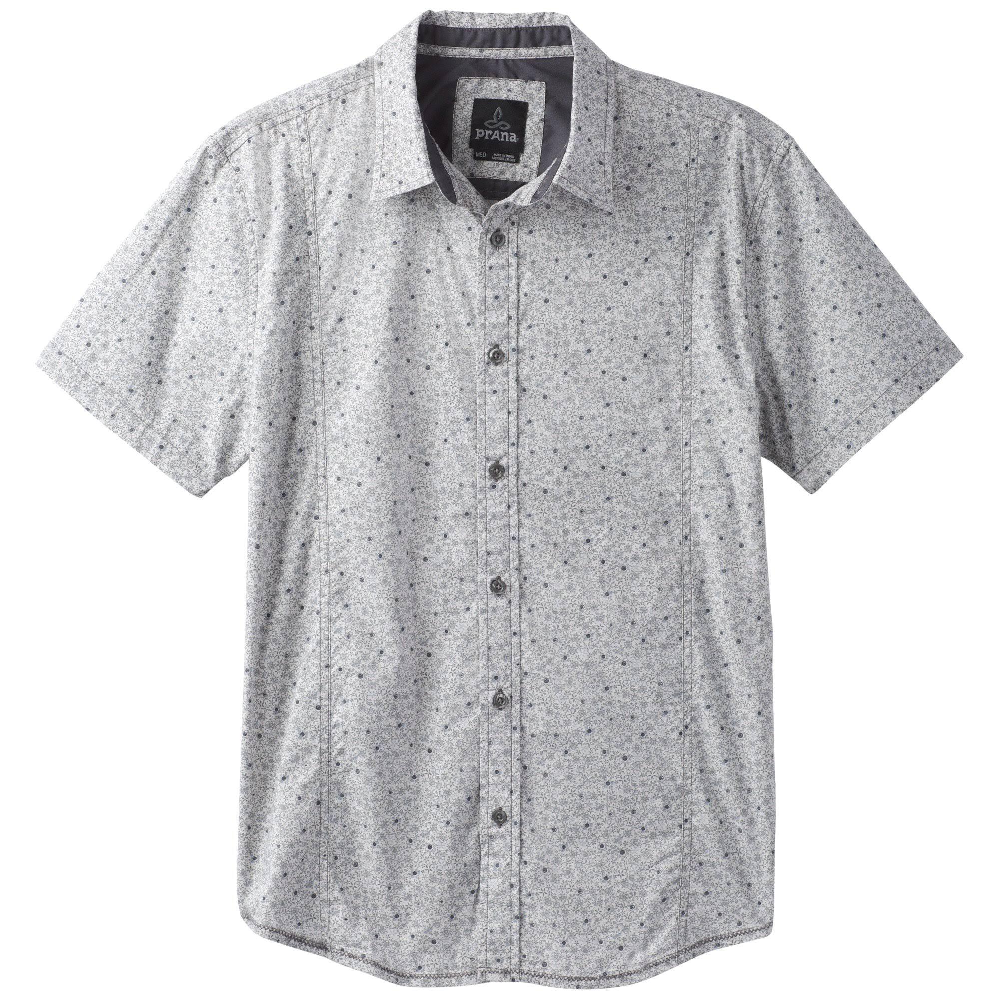 Hombre Lukas M Prana Grava Camisa t0v5wfxqn