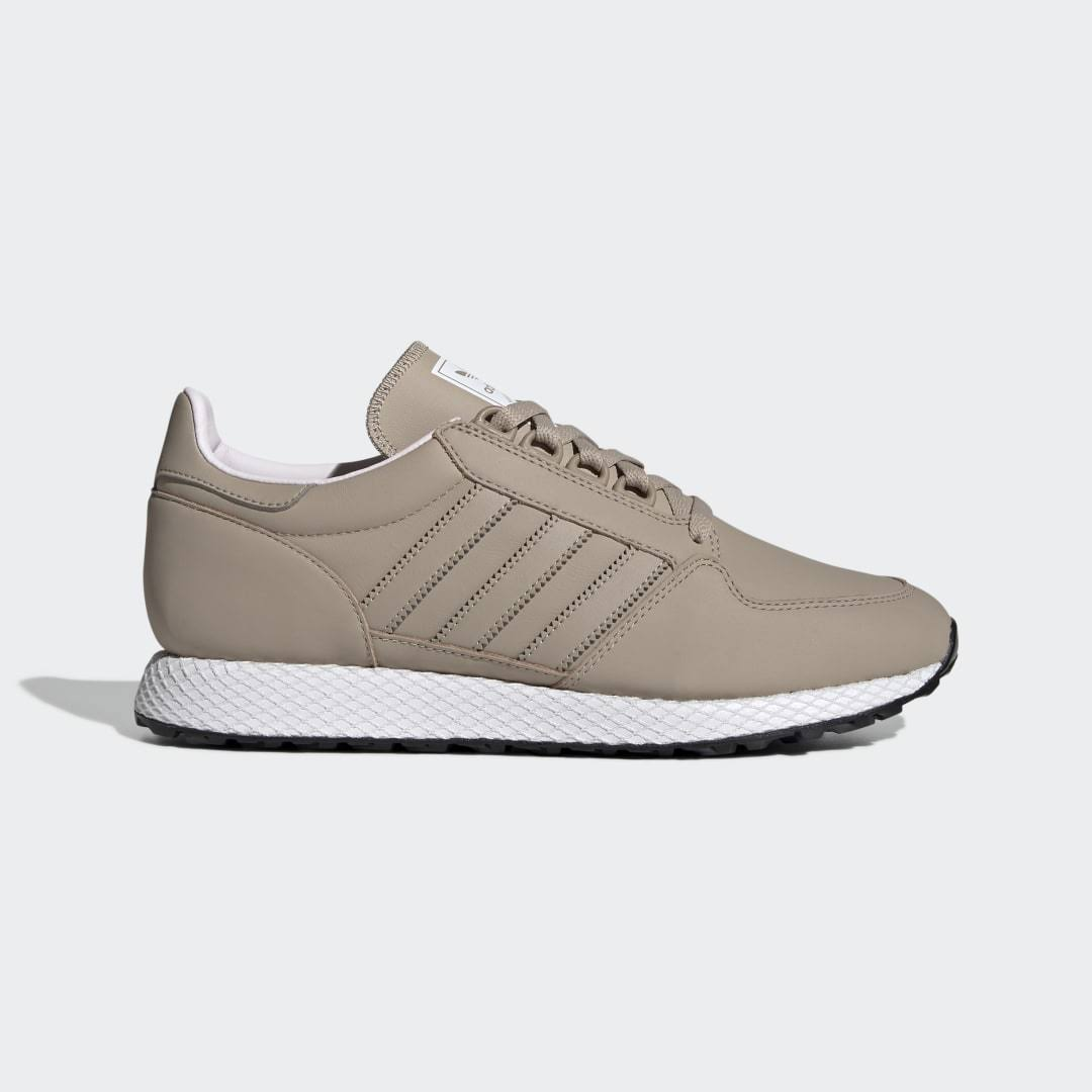 Adidas Forest Grove Shoes - Womens - Beige