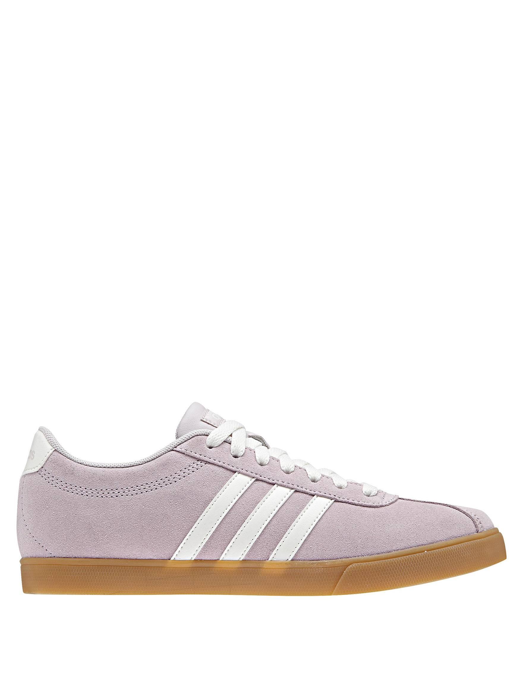 M ice Women's Adult Purple White Sneaker Ice Lt Purple Adidas Neo 5 Courtset Size cloud r7qfS0rx