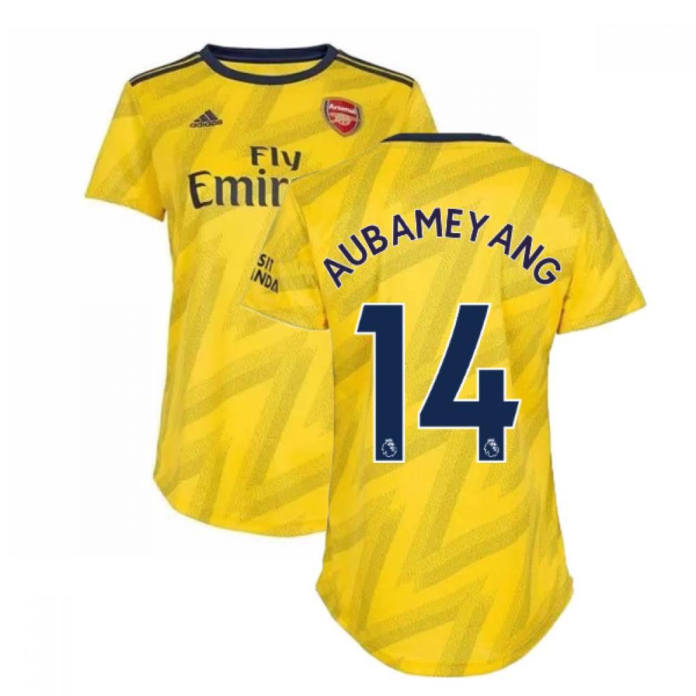 2019-2020 Arsenal Adidas Womens Away Shirt (Aubameyang 14)