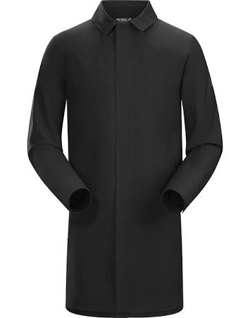 307266 Coat Keppel Black Mens Medium Arc'teryx Trench xdgqZYEwE
