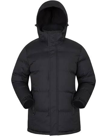Xxs Größe Jacket Snow Mountain Warehouse Schwarz Mens Padded n1fZzqTw
