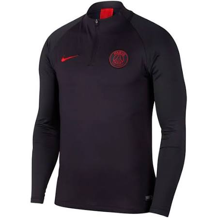 PSG 2019-2020 Drill Top (Oil Grey) - Kids by Teamzo