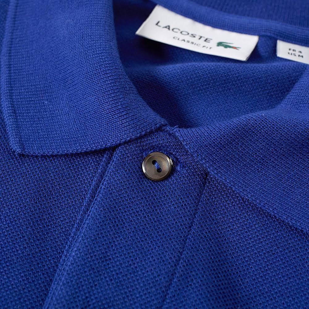 L12 12 Lacoste 2 Blue Classic Polo RA4q45w7