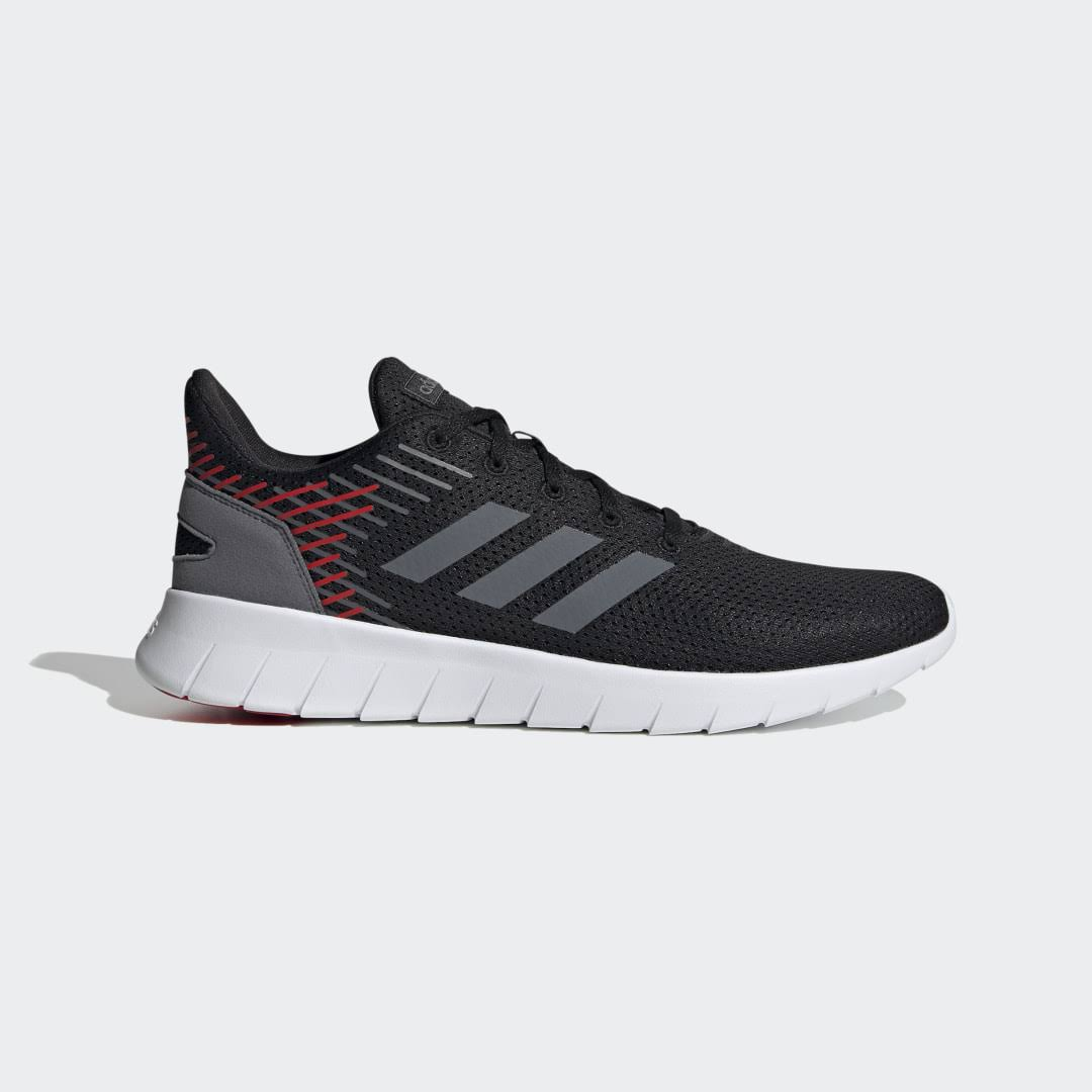 Adidas Asweerun Shoes Running - Black - Men