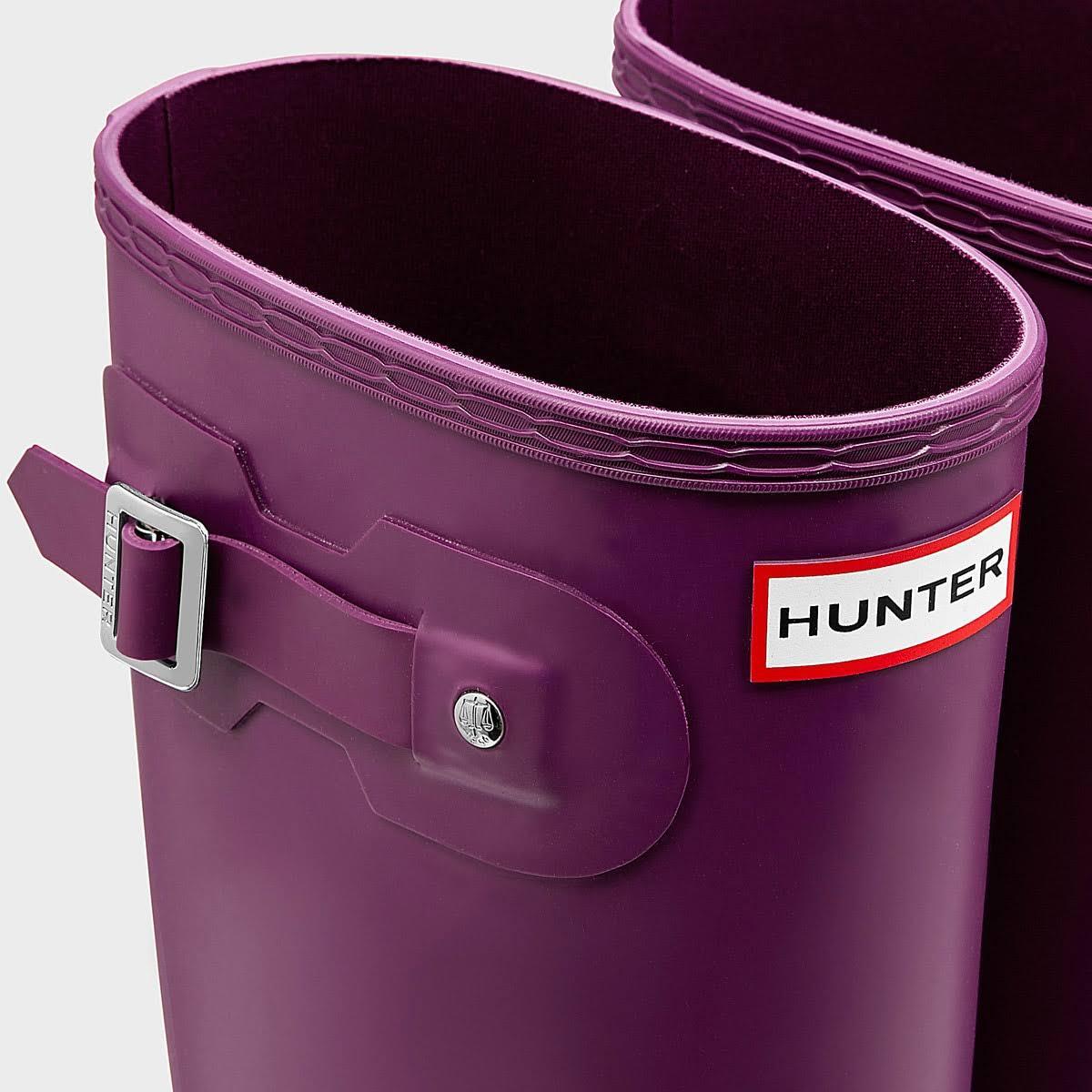 Original Tall Hunter WelliesRvi Womens Purple 5j3ARL4