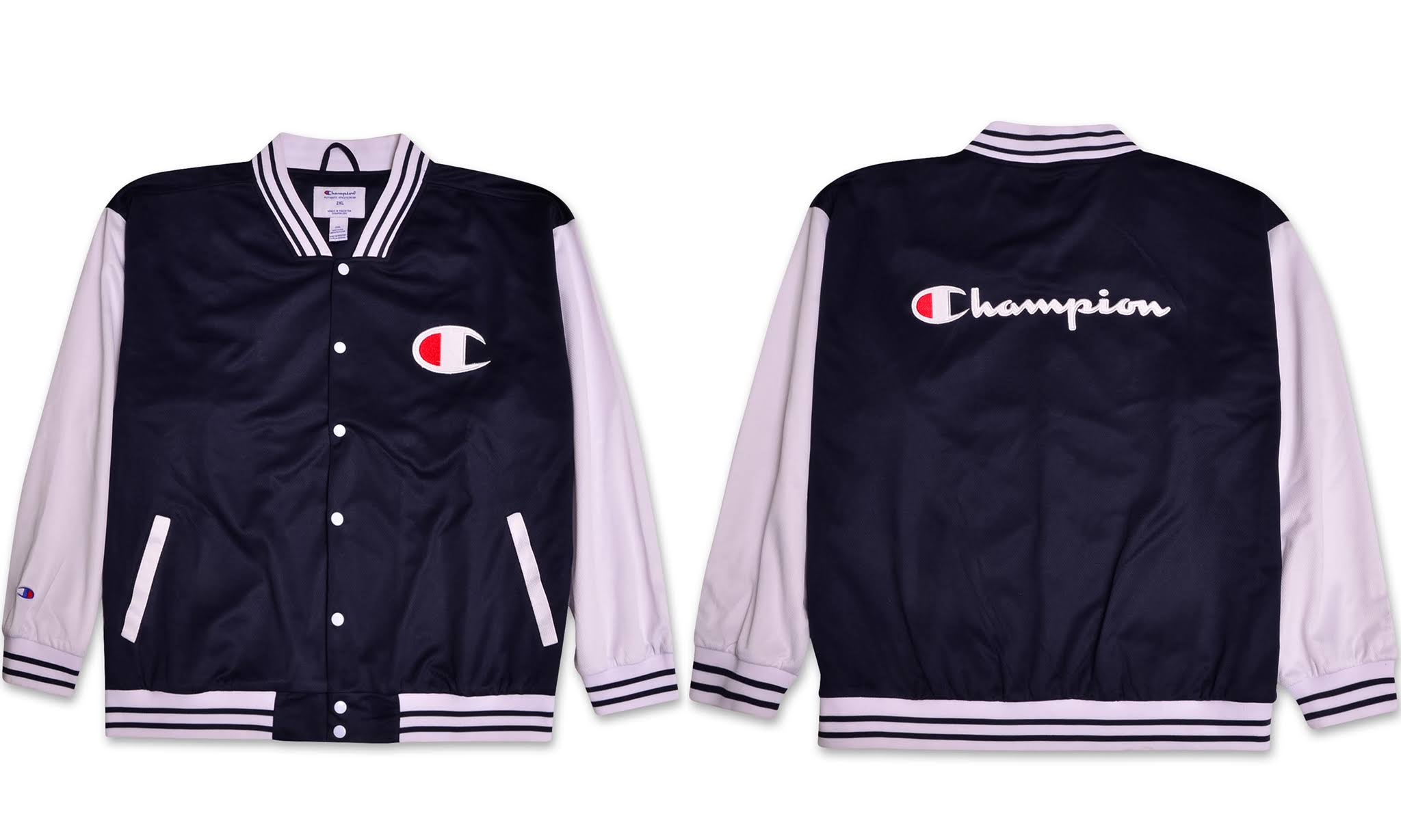 Champion Logo Leichte Tall Trainingsjacke Big Mens Varsity Script rwI7rH
