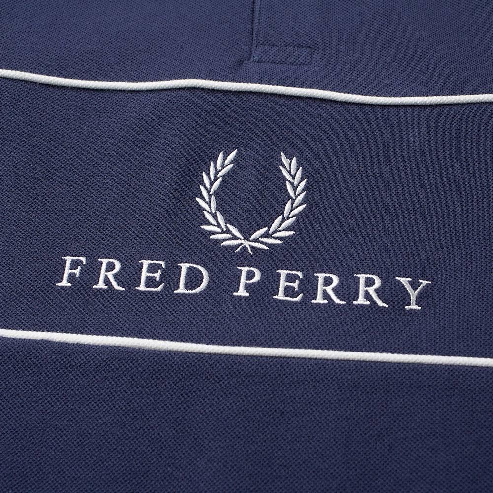 Panel Fred Perry Carbono Azul Piqué Polo Fw7p5wq