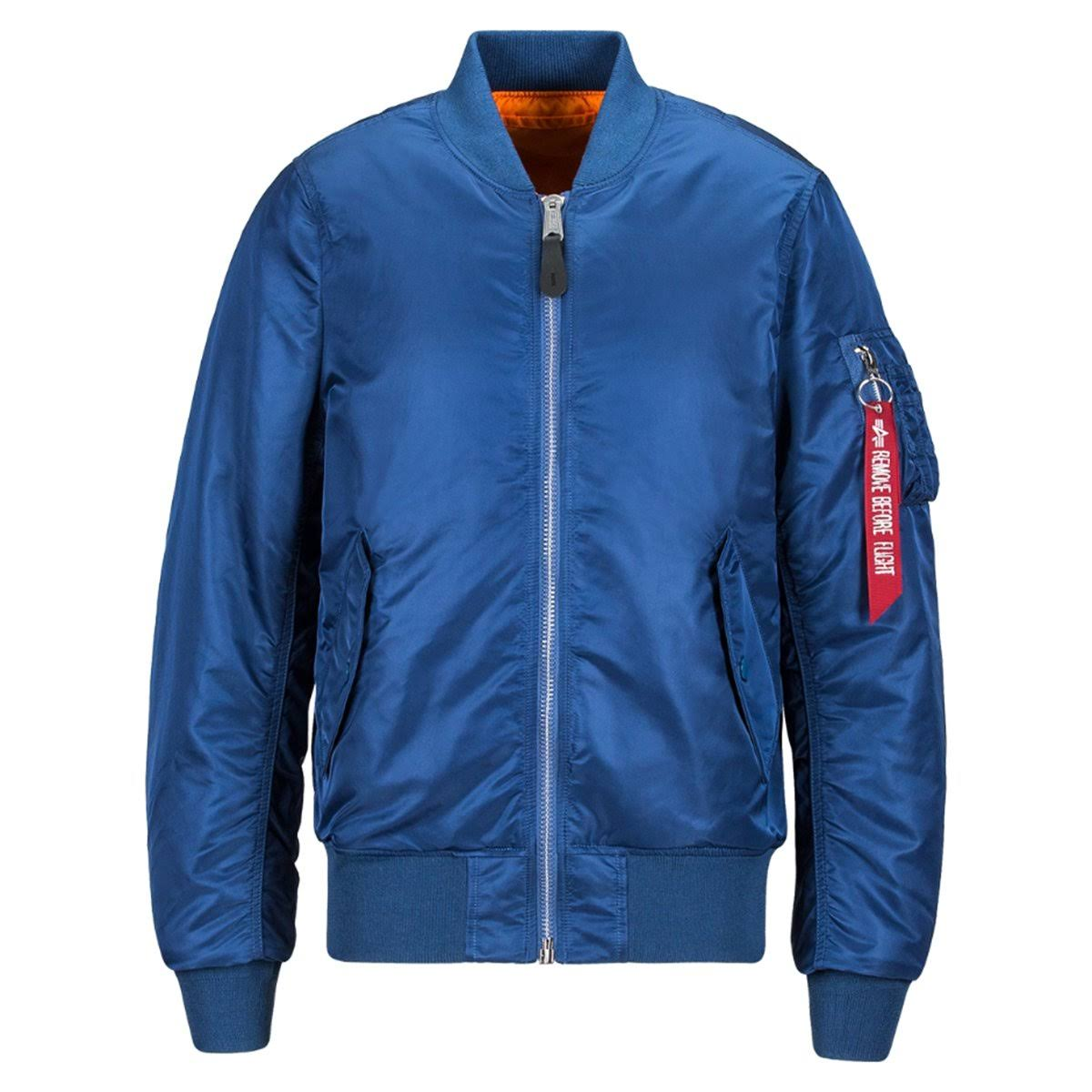 Ma Industries Blue Slim Mjm44530c1 Hombre Fit 9 1 blue Chaqueta Alpha No q5dx6Hqw