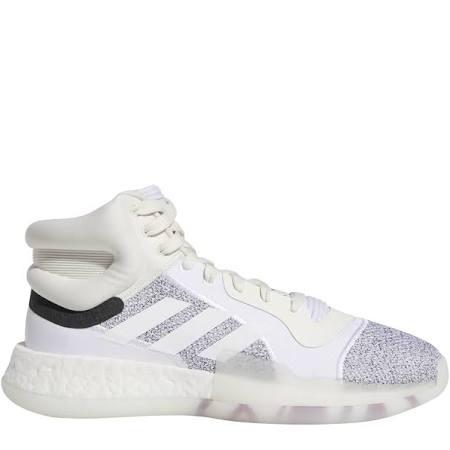 Gris Mid Boost Marquee Baloncesto Zapatillas Adidas Blanco De Hombre Para ASPnOO6v