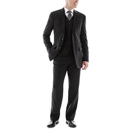 De Para Stafford Super Corta Entallado Lana Corte Executive 42 Talla Hombres Chaqueta Negro 100 RqAdwR