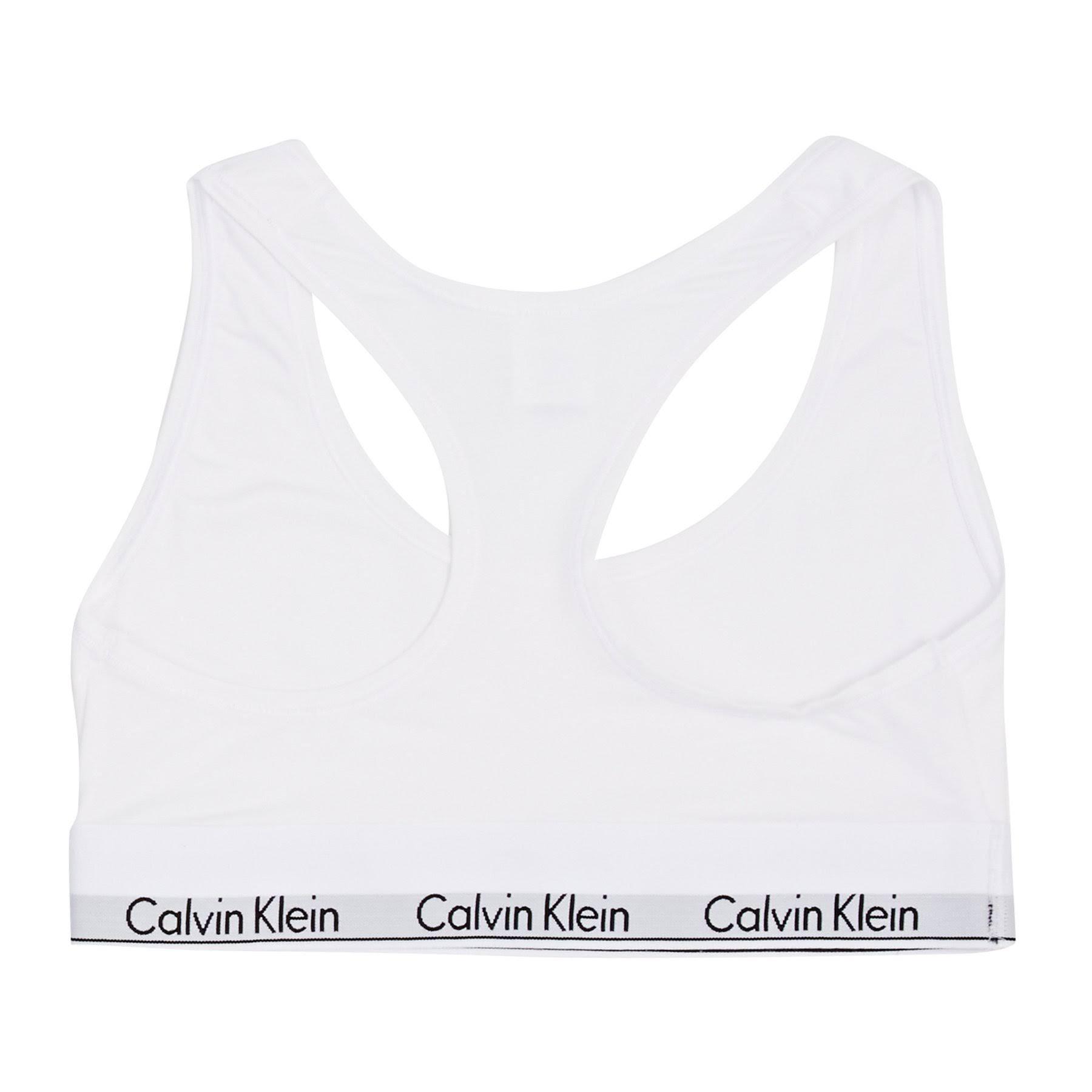 Blanco Klein Klein M Calvin Calvin Bralette Blanco M Bralette Calvin wz6Y5Tq6x