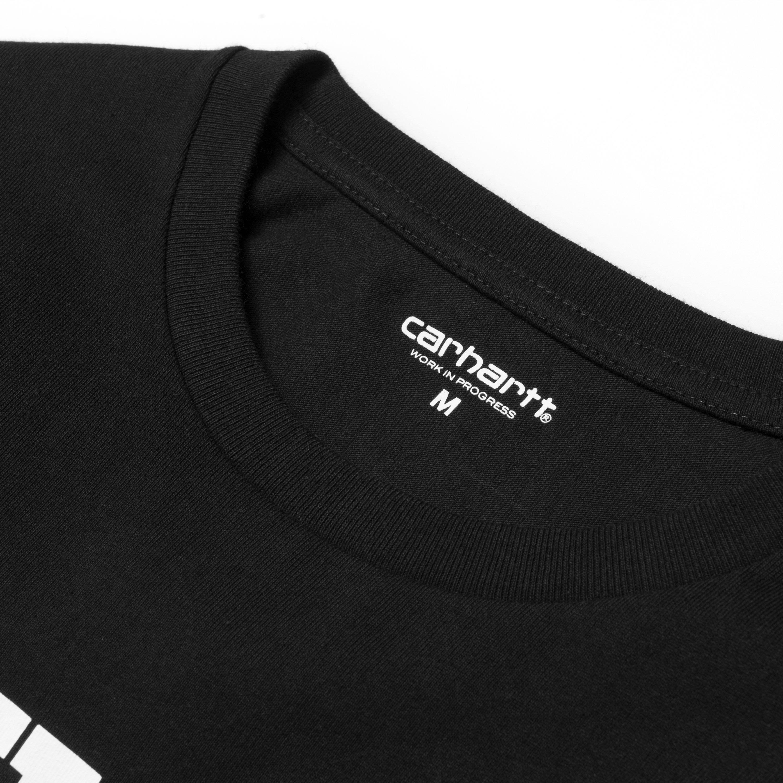 Camiseta Negro En Blanco Larga Carhartt College Y Manga De YUXIqr8xwY