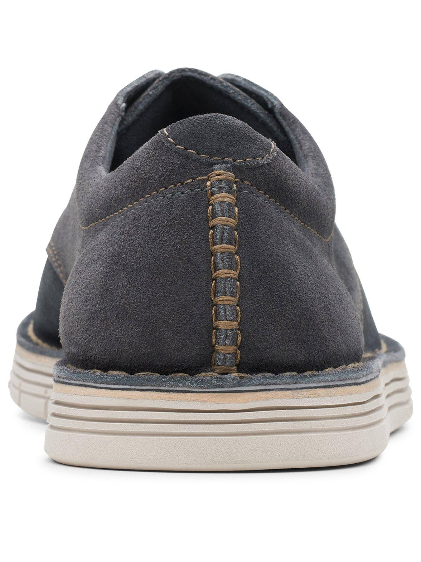Clarks Forge Vibe Lace Up Shoes - Blue, Blue, Size 9, Men  mhCTze