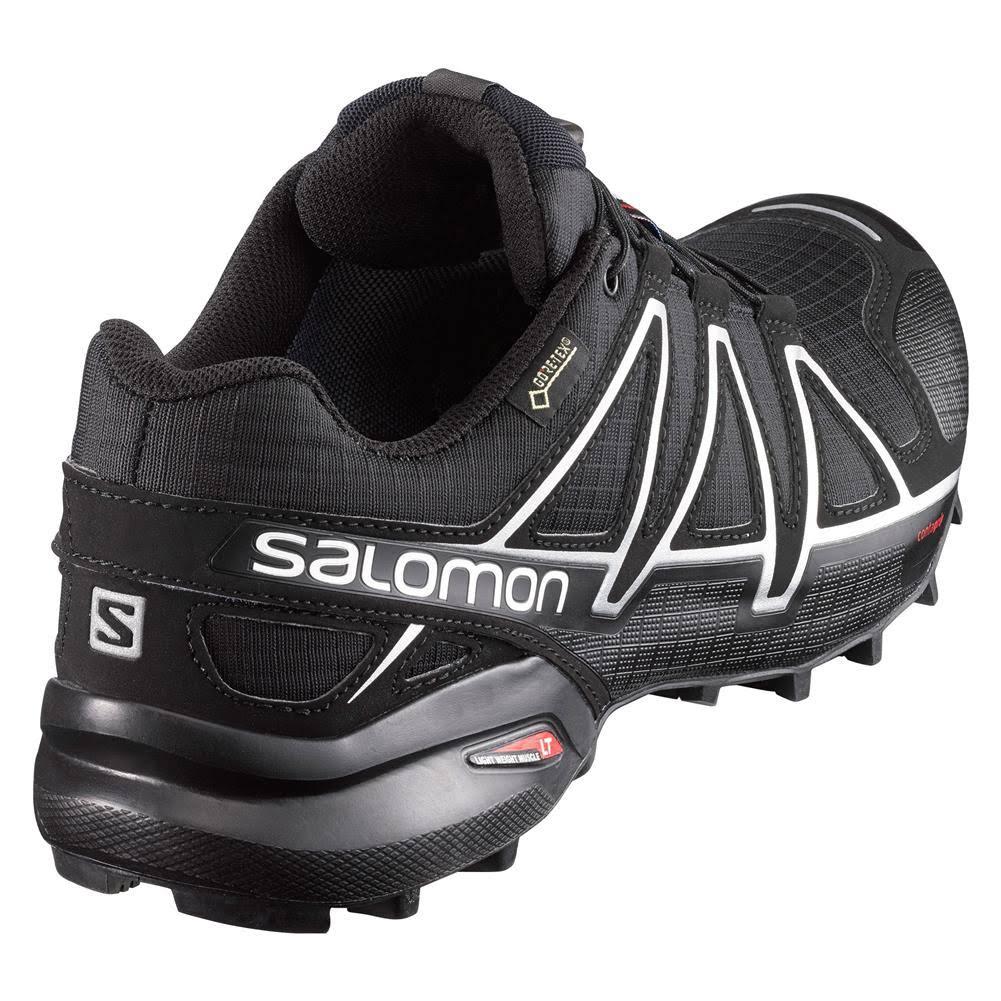 Salomon 5 Gtx Trail Speedcross 4 11 Negro Para Metálico Hombre Tamaño Zapatillas Correr Plateado x 4vwxqSEnvA