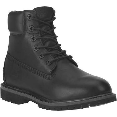 Waterproofblack 8161b Leather 6 Premium Women's inch Boots Timberland RxtUqz
