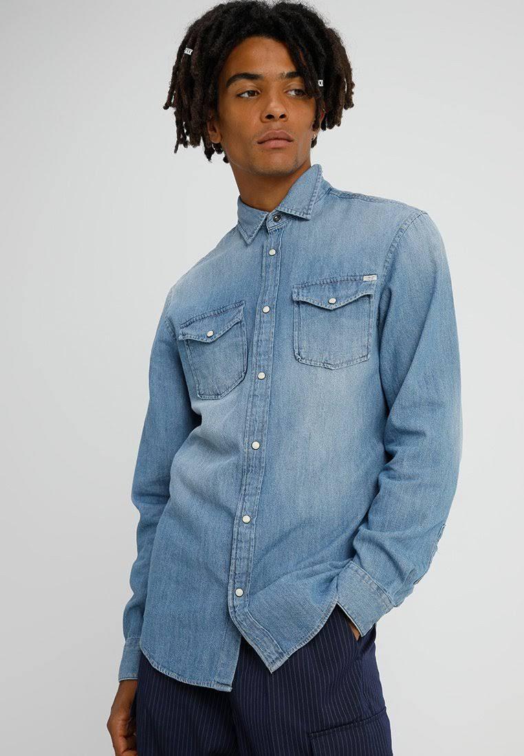 Jones amp; Hombre Must Azul Camisa Jack have 5fHUpCq
