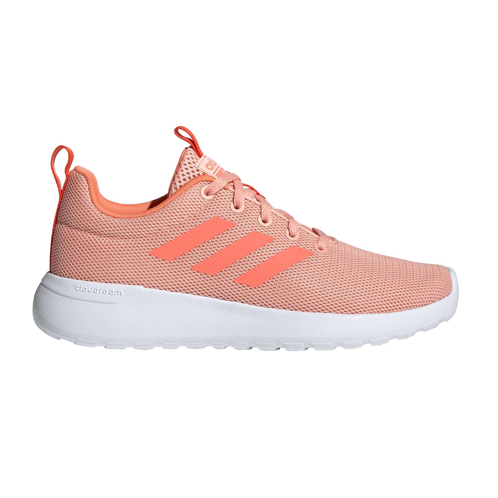 Adidas Lite Racer CLN Girls Trainer Pink - UK 11