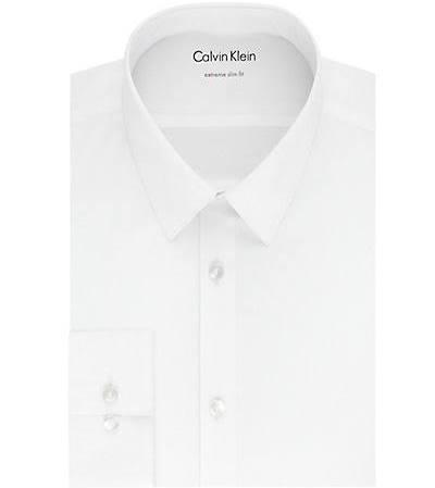 Extra Camisa Vestir De Slim Corte BxRXqw