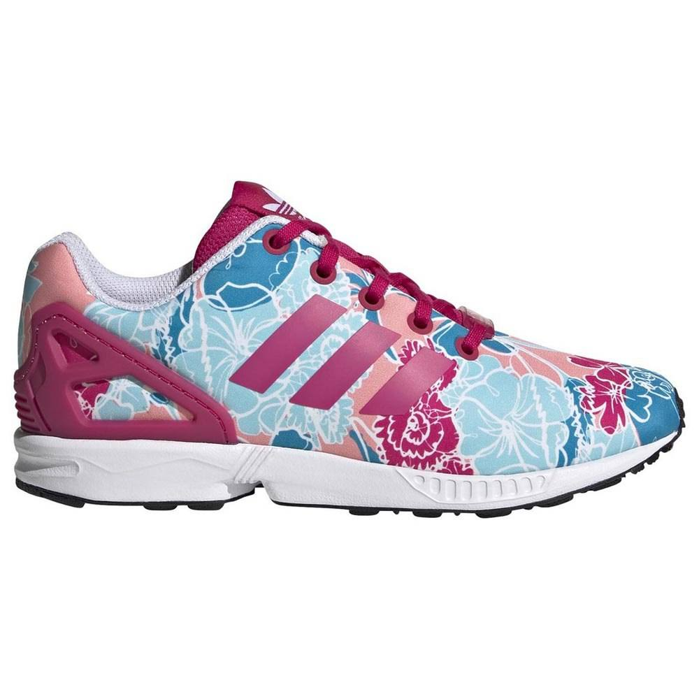 Adidas ZX Flux Shoes - Kids - Pink
