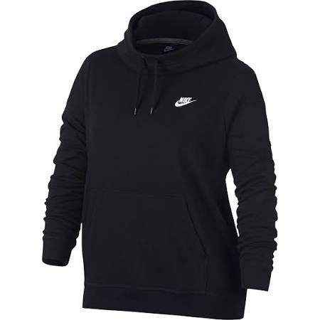 Jersey Blanco Talla Grande Alzado Nike Mujer Para Con Cuello Xlarge Negro 1rpqR1