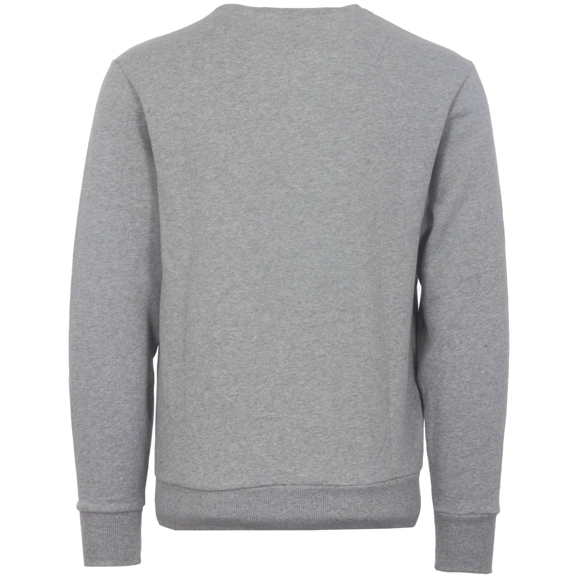 Grau Meliert Mit Sweatshirt Rundhalsausschnitt Schwarzes Succiso Ellesse wtqY7Xx