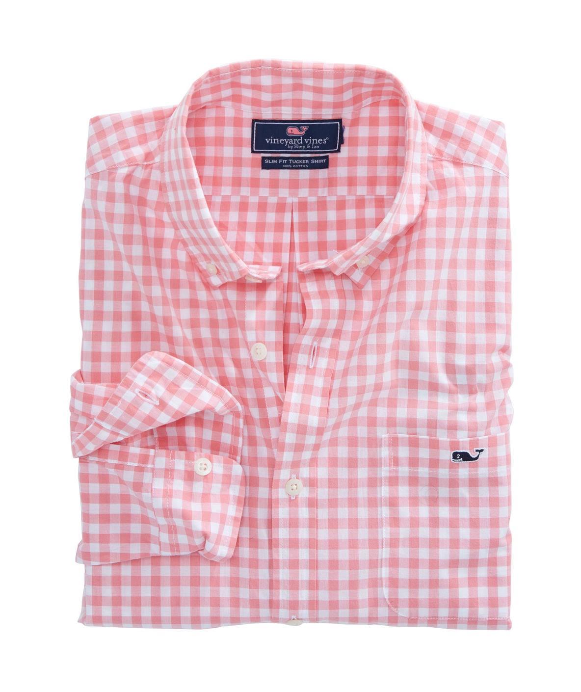 Spark Gingham Hullblue Vines shirt Vineyard Schmales Tucker Sea 1w3456 WBFnnSvwf