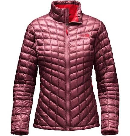 Para Chaqueta Thermoball The Mujer Con Rojo Face Cremallera North Granate Completa zqwfOaxq1