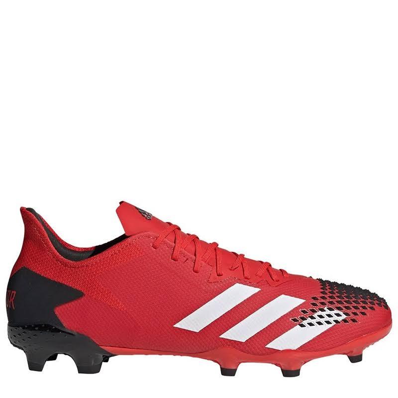 Adidas Predator 20.2 Mens FG Football Boots - Red/White/Black