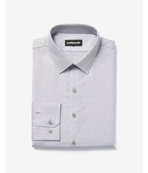 Hombres Slim M Twill Extra Gris 1mx Camisa OTXwF