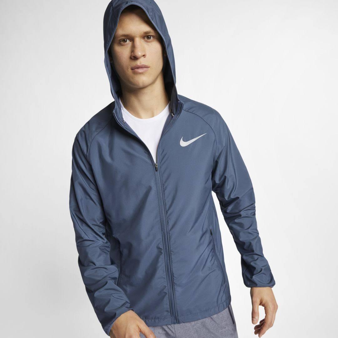 Reflektierendes Monsoon Jacket Hooded M Nike Silber Blue Running Essential Herren X0BXnZ1p