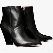 Gold Toe Ankle Boots