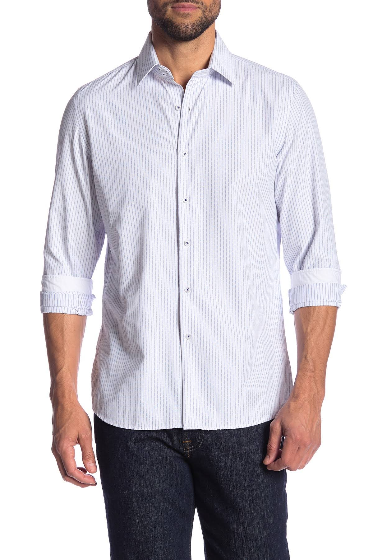Fit Para Rosso Moderno Camiseta M Styles Milano Azul Modern Fashion Hombre Z1qqUXHS