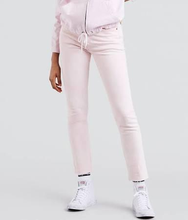 Acid Light Levis Lilac Skinny Pink Jeans 501 xfHnf6