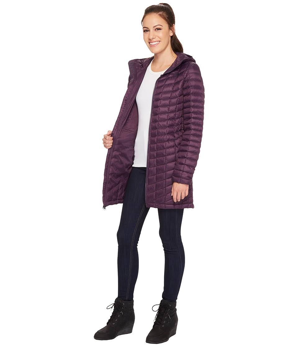 Eggplant Mujeres Thermoball Parka Para Dark The North temporada Ii Purple Pasada De Face HtqtvFRxw
