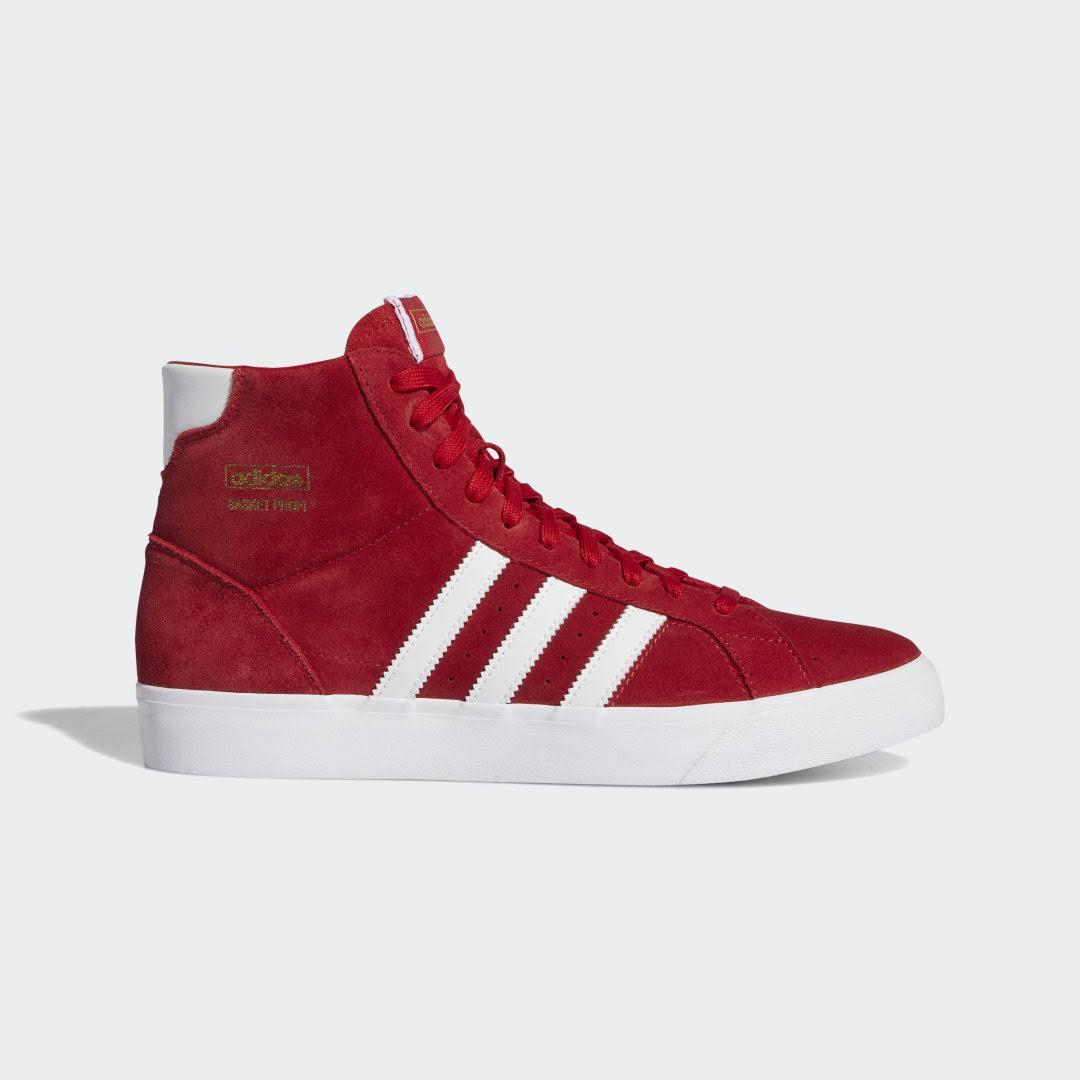Adidas Basket Profi Shoes - Red