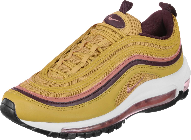 Gold Air 97 Nike Max Shoe Brown Red Women's SXdzRq