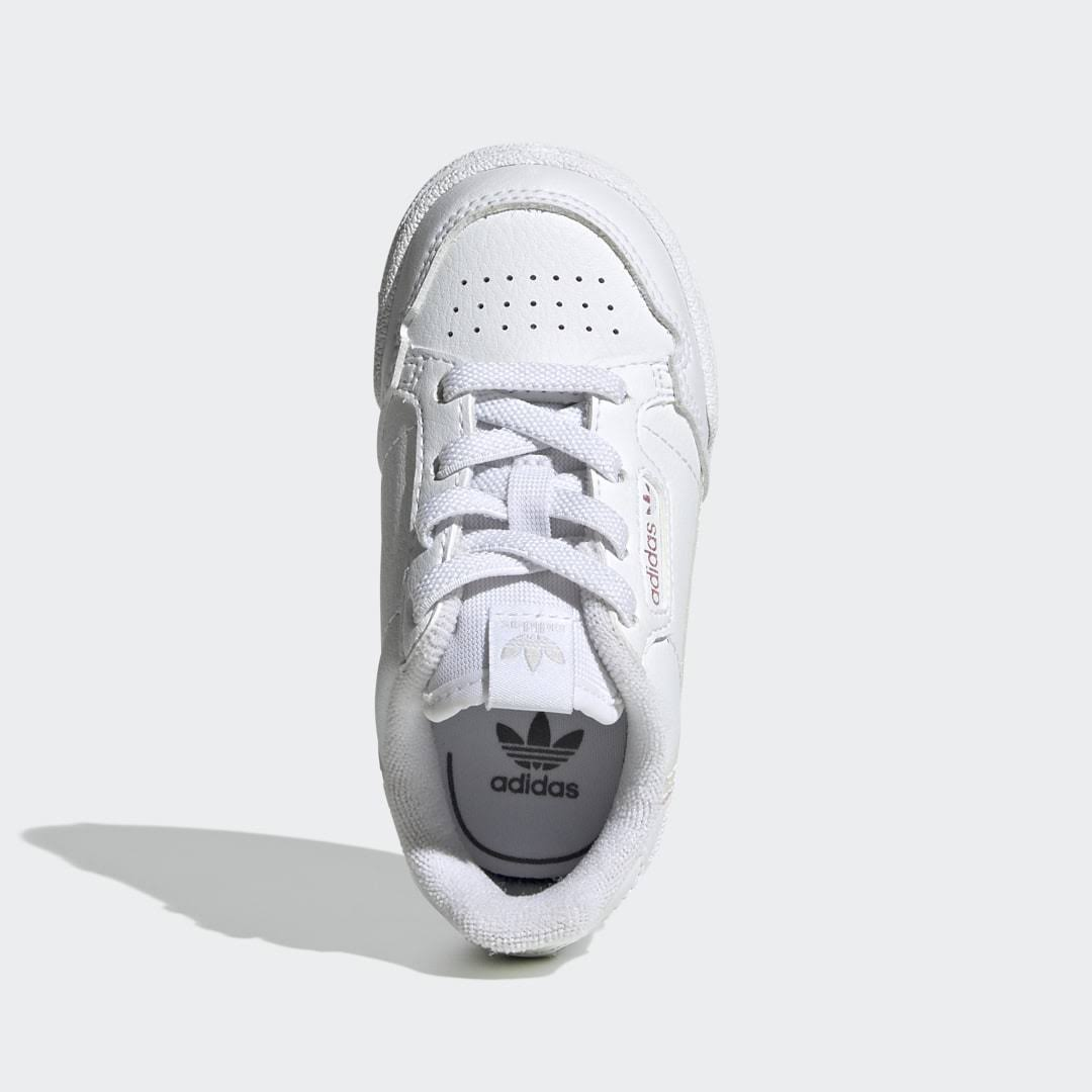 Adidas Continental 80 Shoes - Kids - White