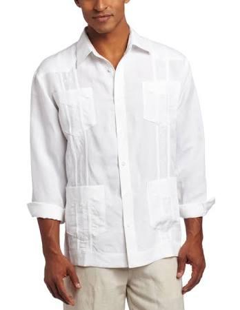 Shirt Cubavera Herren Besticktes Langarm Guayabera xpwH76q01