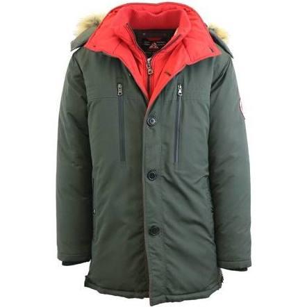 Mit Medium Abnehmbarer Parka Gbh Größe Grün Kapuze mantel Men's qngtw0xTa6